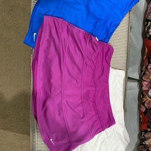 Nike tennis skirts (3) size Medium